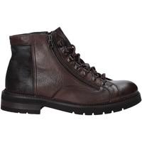 Sapatos Homem Botas baixas Exton 28 Castanho