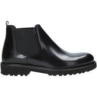Sapatos Homem Botas baixas Exton 465 Preto