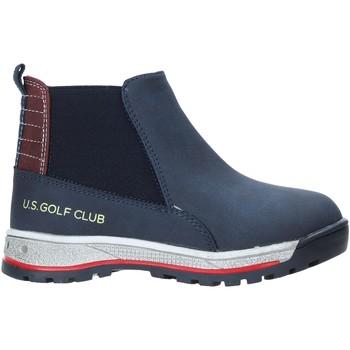 Sapatos Criança Botas baixas U.s. Golf W19-SUK525 Azul