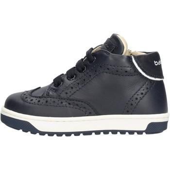 Sapatos Rapaz Sapatilhas de cano-alto Balducci - Polacchino blu CSP4101 BLU