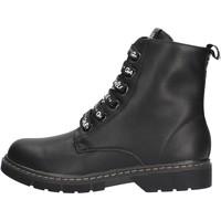 Sapatos Rapariga Botas baixas GaËlle Paris - Anfibio nero G-450 NERO