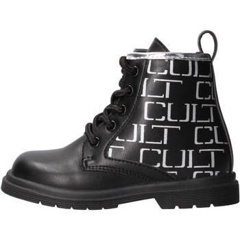 Sapatos Rapariga Botas baixas Cult - Anfibio nero MINIROCK 1 NERO