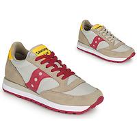 Sapatos Mulher Sapatilhas Saucony JAZZ ORIGINAL Bege / Vermelho