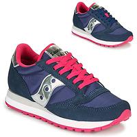 Sapatos Mulher Sapatilhas Saucony JAZZ ORIGINAL Azul / Rosa