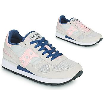 Sapatos Mulher Sapatilhas Saucony SHADOW ORIGINAL Cinza / Rosa / Azul