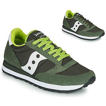 Sapatos Homem Sapatilhas Saucony JAZZ ORIGINAL Cinza / Cáqui