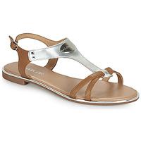 Sapatos Mulher Sandálias Adige ANNABELLE V4 SPECCHIO SILVER Prata