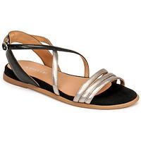Sapatos Mulher Sandálias Adige IDIL V2 CENTURY ACERO Prata