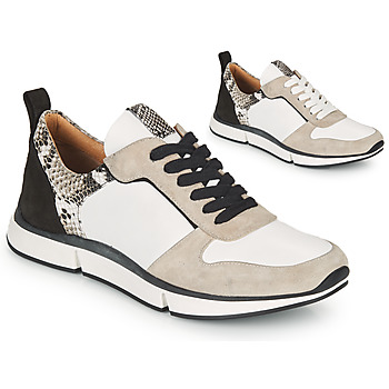 Sapatos Mulher Sandálias Adige VANILLE V5 PYTHON ICE Branco