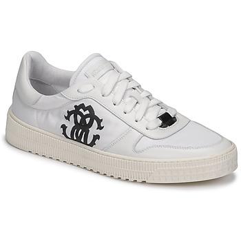 Sapatos Homem Sapatilhas Roberto Cavalli GEL Branco