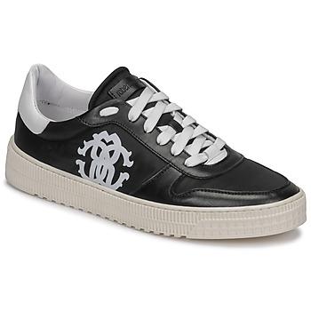 Sapatos Homem Sapatilhas Roberto Cavalli GEL Preto