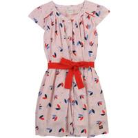Textil Rapariga Vestidos curtos Carrément Beau Y12246-44L Rosa
