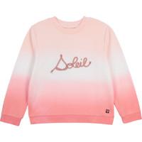Textil Rapariga Sweats Carrément Beau Y15373-N44 Branco / Rosa