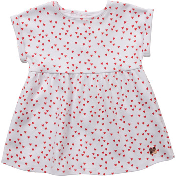 Textil Rapariga Vestidos curtos Carrément Beau Y92119-10B Branco