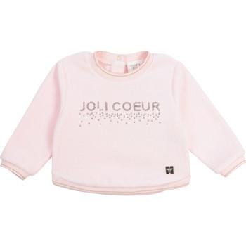 Textil Rapariga Sweats Carrément Beau Y95254-44L Rosa