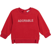 Textil Rapariga Sweats Carrément Beau Y95256-992 Vermelho