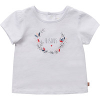 Textil Rapariga T-Shirt mangas curtas Carrément Beau Y95270-10B Branco