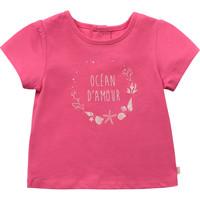 Textil Rapariga T-Shirt mangas curtas Carrément Beau Y95270-46C Rosa