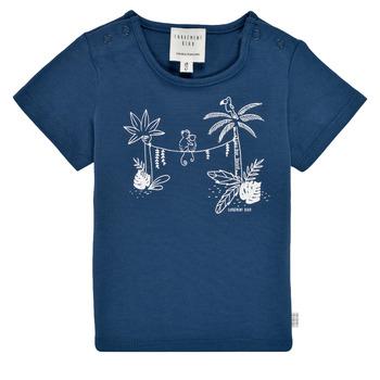 Textil Rapaz T-Shirt mangas curtas Carrément Beau Y95274-827 Marinho