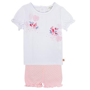 Textil Rapariga Conjunto Carrément Beau Y98112-N54 Multicolor