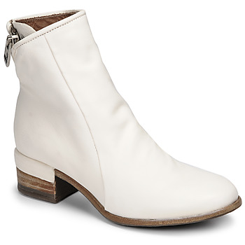 Sapatos Mulher Botins Airstep / A.S.98 GIVE ZIP Branco