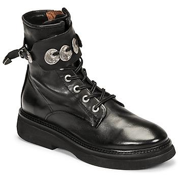 Sapatos Mulher Botas baixas Airstep / A.S.98 IDLE Preto