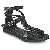 Sapatos Mulher Sandálias Airstep / A.S.98 RAMOS TORSADE Preto
