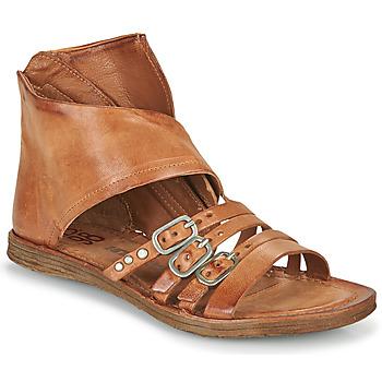 Sapatos Mulher Sandálias Airstep / A.S.98 RAMOS HIGH Camel