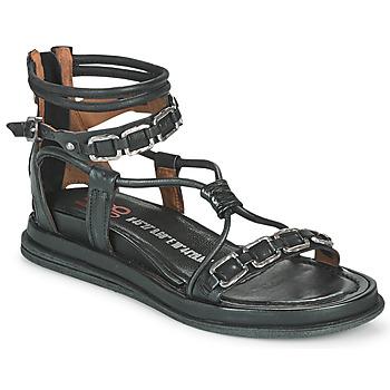 Sapatos Mulher Sandálias Airstep / A.S.98 POLA SQUARE Preto