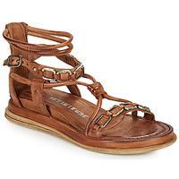Sapatos Mulher Sandálias Airstep / A.S.98 POLA SQUARE Camel