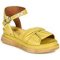 Sapatos Mulher Sandálias Airstep / A.S.98 LAGOS NODE Amarelo