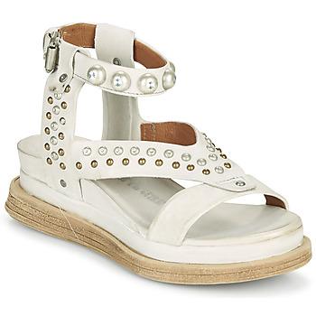 Sapatos Mulher Sandálias Airstep / A.S.98 LAGOS STUD Cinza / Bege