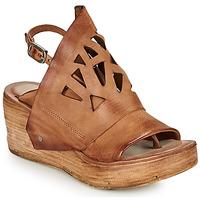 Sapatos Mulher Sandálias Airstep / A.S.98 NOA GRAPH Camel