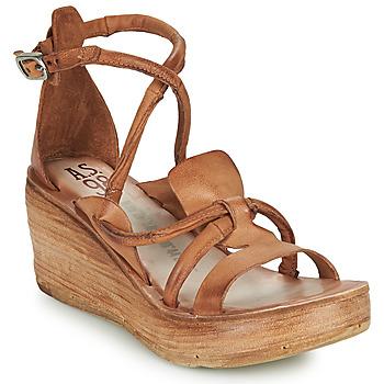 Sapatos Mulher Sandálias Airstep / A.S.98 NOA STRAP Camel