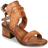 Sapatos Mulher Sandálias Airstep / A.S.98 KENYA BUCKLE Camel