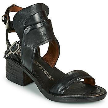 Sapatos Mulher Sandálias Airstep / A.S.98 KENYA BUCKLE Preto