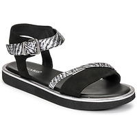 Sapatos Mulher Sandálias Regard ANGERS Preto
