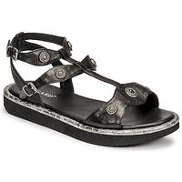 Sapatos Mulher Sandálias Regard ANGLET Preto