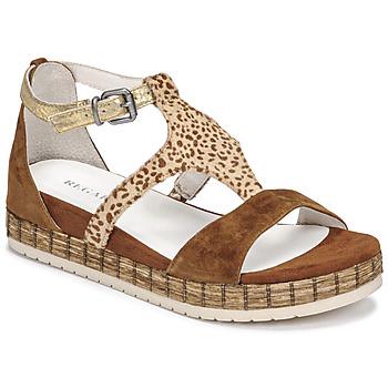 Sapatos Mulher Sandálias Regard CASSIS Castanho