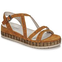 Sapatos Mulher Sandálias Regard CLAIRAC Castanho