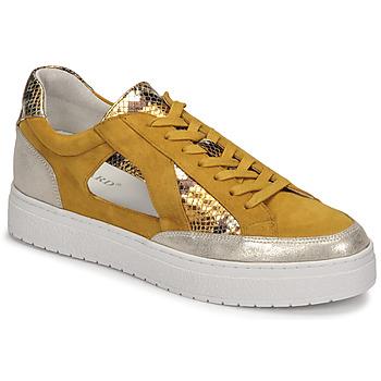 Sapatos Mulher Sapatilhas Regard HARY2 Amarelo
