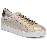 Sapatos Mulher Sapatilhas Regard HAVRES Ouro