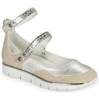 Sapatos Mulher Sandálias Regard JUMEL Branco / Prata