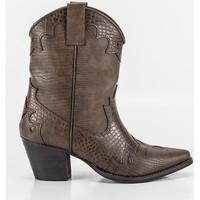 Sapatos Mulher Botins Corina A2812 Marron