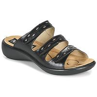 Sapatos Mulher Chinelos Romika Westland IBIZA 66 Preto