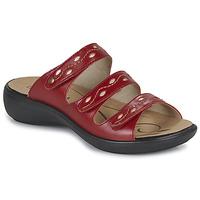 Sapatos Mulher Chinelos Romika Westland IBIZA 66 Vermelho