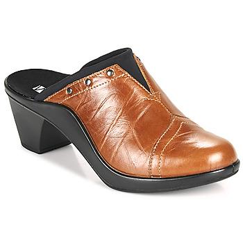 Sapatos Mulher Chinelos Romika Westland ST TROPEZ 271 Castanho