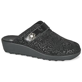 Sapatos Mulher Chinelos Romika Westland GINA 110 Preto