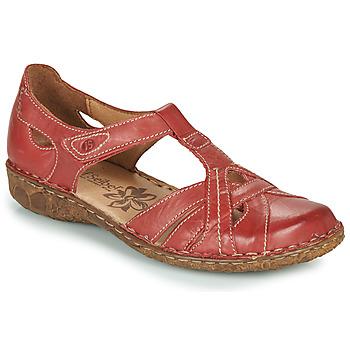 Sapatos Mulher Sandálias Josef Seibel ROSALIE 29 Vermelho