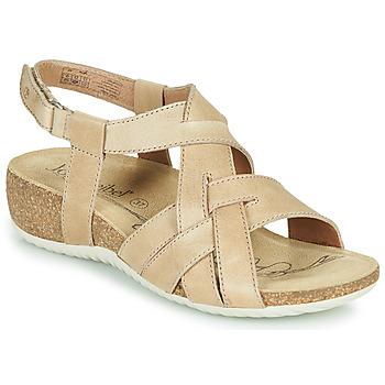 Sapatos Mulher Sandálias Josef Seibel NATALYA 16 Bege